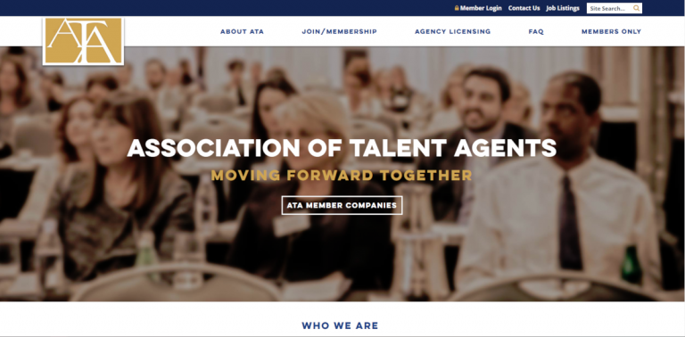 Association of Talent Agents - ResourceShark Business Directory