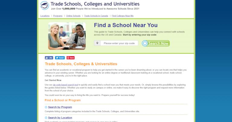 Trade School Programs >> Trade Schools Net Resourceshark Business Directory